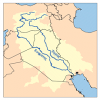جغرافیای تاریخی بین النهرین