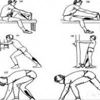 حرکات کششی قبل از تمرین تنیس